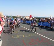 Wycieczka turysyczna De Francja 2011 Fotografia Royalty Free