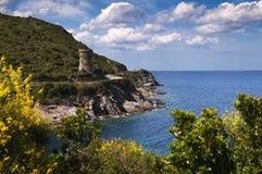 Wycieczka turysyczna De l'Osse - genoese góruje Obrazy Royalty Free