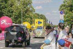 Wycieczka turysyczna De Pologne 2017 Obrazy Royalty Free
