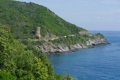Wycieczka turysyczna De Porticciolo, wierza Porticciol Obrazy Royalty Free