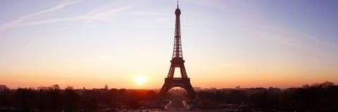 Wycieczka turysyczna Eiffel Fotografia Royalty Free