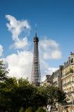 Wycieczka turysyczna Eiffel Zdjęcia Royalty Free