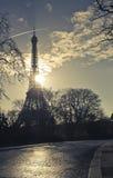 Wycieczka turysyczna Eiffel Fotografia Stock