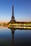 Wycieczka turysyczna Eiffel, Paryż Fotografia Royalty Free