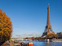 Wycieczka turysyczna Eiffel, Paryż Obrazy Stock