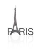 Wycieczka turysyczna Eiffel, Paryż Zdjęcia Stock