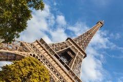 Wycieczka turysyczna Eiffel w Paryż Fotografia Stock