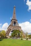 Wycieczka turysyczna Eiffel w Paryż Obraz Stock