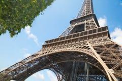 Wycieczka turysyczna Eiffel w Paryż Zdjęcie Royalty Free
