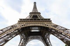 Wycieczka turysyczna Eiffel, wieża eifla w Paryż Zdjęcie Royalty Free