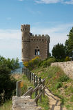 Wycieczka turysyczna Magdala Rennes - Le Górska chata Francja Fotografia Royalty Free