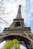 Wycieczka turysyczna w Paryż Eiffel Obrazy Royalty Free