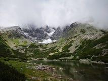 Wycieczka turysyczna Wysoki Tatras obrazy stock