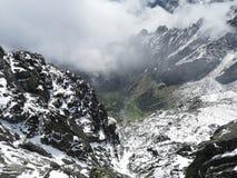 Wycieczka turysyczna Wysoki Tatras fotografia royalty free