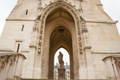 Wycieczki turysycznej de St. Jacques, Paryż Obrazy Royalty Free