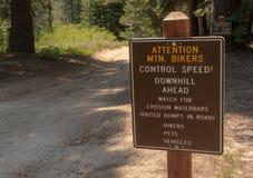 Wycieczkować Marlette jezioro w Jeziornym Tahoe zdjęcia stock
