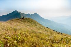 Wycieczkować przy Chang Puak górą Fotografia Stock