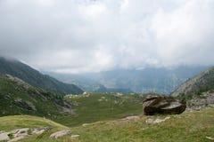 Wycieczkować w Alps Obraz Royalty Free
