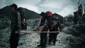 Wycieczkować na góry salak Zdjęcie Royalty Free