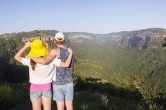 Wycieczkowicza pustkowia krajobraz Zdjęcia Royalty Free