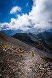 Wycieczkujący do Syue góry, Tajwan Zdjęcia Stock