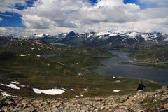 wycieczkuje Norway Fotografia Stock