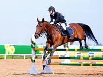 Wyścigi konny. Zdjęcia Royalty Free