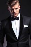 Wycinanka biznesowy mężczyzna jest ubranym smoking obraz royalty free