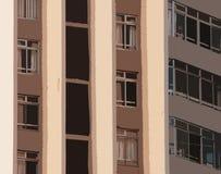WYCINANKA wizerunek część HIGHRISE budynek fotografia stock