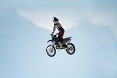 wyczynów motocykli Obrazy Royalty Free