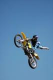 wyczynu motocyklistów Zdjęcia Stock