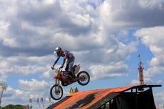 wyczynu motocyklistów obrazy stock
