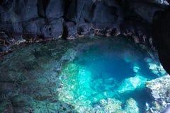 Wydźwignięcie widok jama w wydźwignięciu Zdjęcie Royalty Free