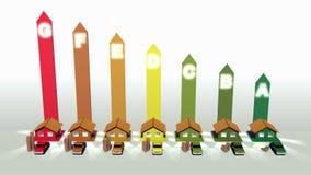 Wydajność energii Zdjęcie Stock