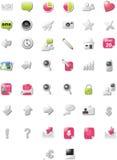wydania ikon standardu sieć Zdjęcie Stock