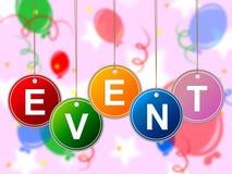 Wydarzeń wydarzenia Reprezentują okazje ceremonia I sprawa ilustracji