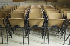 Wydarzeń krzesła Obraz Royalty Free