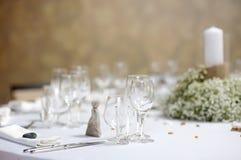 wydarzenia partyjny setu stół Fotografia Stock