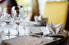wydarzenia partyjny setu stół Fotografia Royalty Free