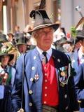 wydarzenia tyrolean ludowy Zdjęcia Royalty Free