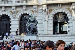 Wydarzenie blisko urzędu miasta Porto Obrazy Royalty Free