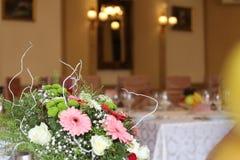 Wydarzenie kwiatu centerpiece Obraz Royalty Free