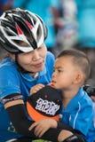 Wydarzenie rower Dla mamy Zdjęcie Royalty Free
