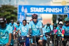 Wydarzenie rower Dla mamy Zdjęcia Stock