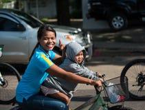 Wydarzenie rower Dla mamy Obraz Royalty Free