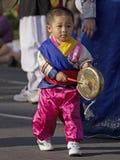 Koreański gong Fotografia Royalty Free