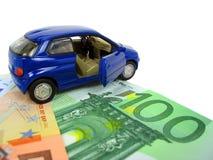 wydatki samochodowe Zdjęcia Royalty Free