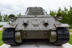 Wydmuchowa drymba zbiornik t-34 Obrazy Royalty Free