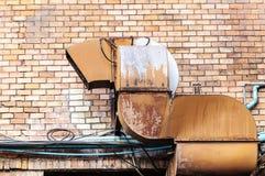 Wydmuchowej wentylaci drymba zdjęcie royalty free