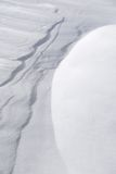 wydmy śnieżne Zdjęcia Stock